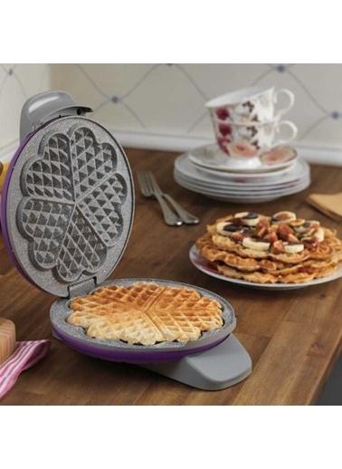 Korkmaz Mia Mor Waffle Makinesi Mor